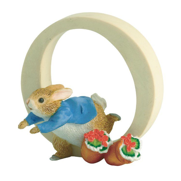 Peter Rabbit Alphabet Letter O - Peter Rabbit