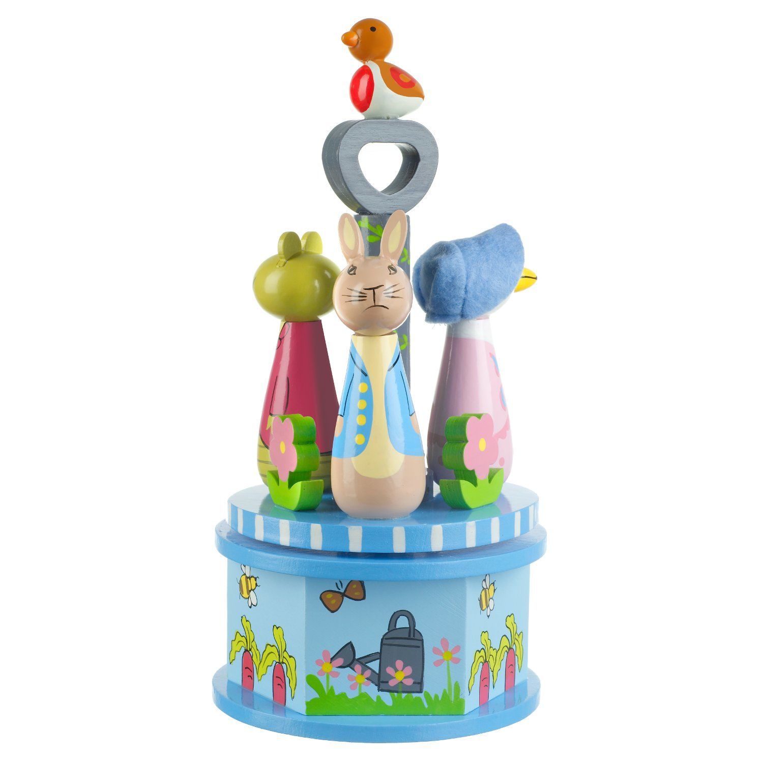 Peter Rabbit Peter Rabbit Wooden Musical Carousel