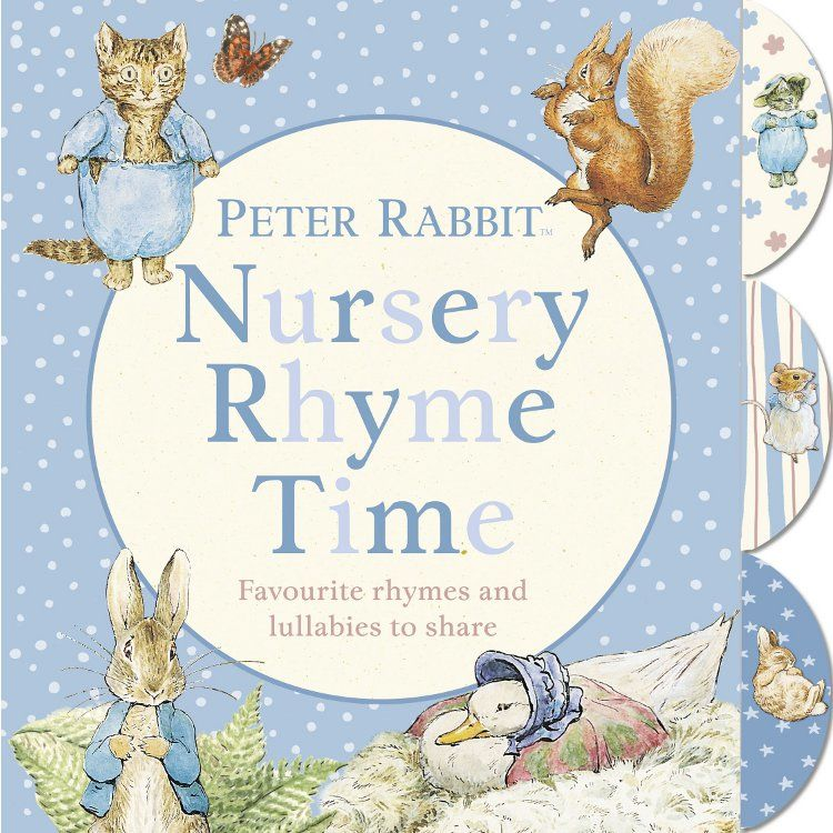 Peter Rabbit Nursery Rhyme Time (Board Book)
