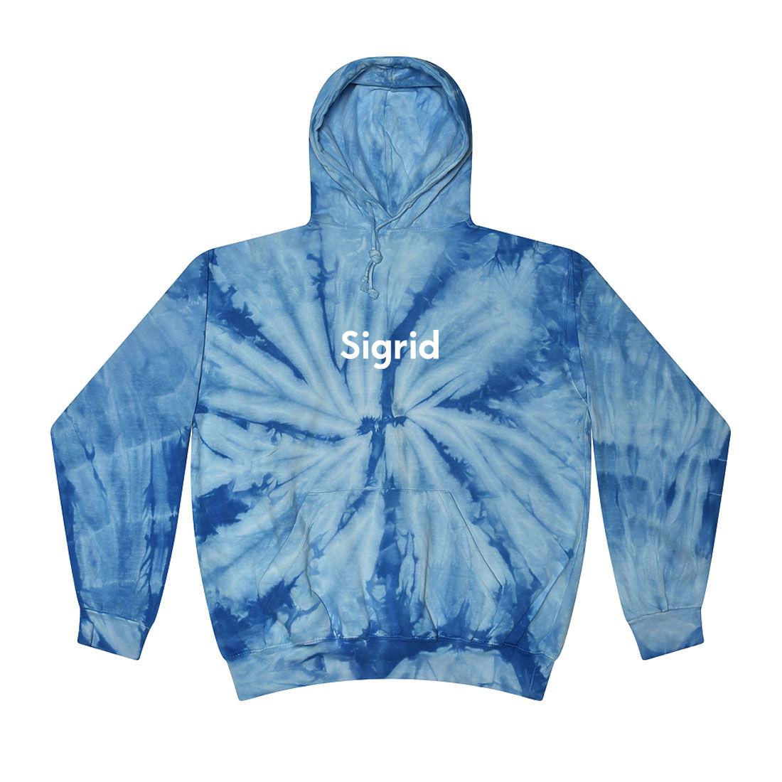 Sigrid: Tour Tie Dye Hoodie - S