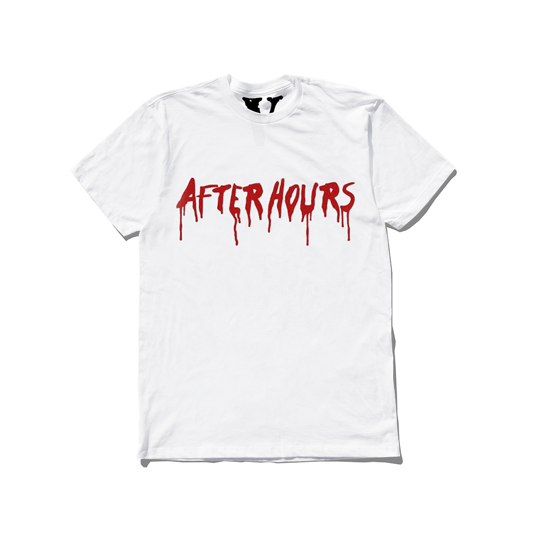 The Weeknd: VLONE AFTER HOURS BLOOD DRIP TEE WHITE