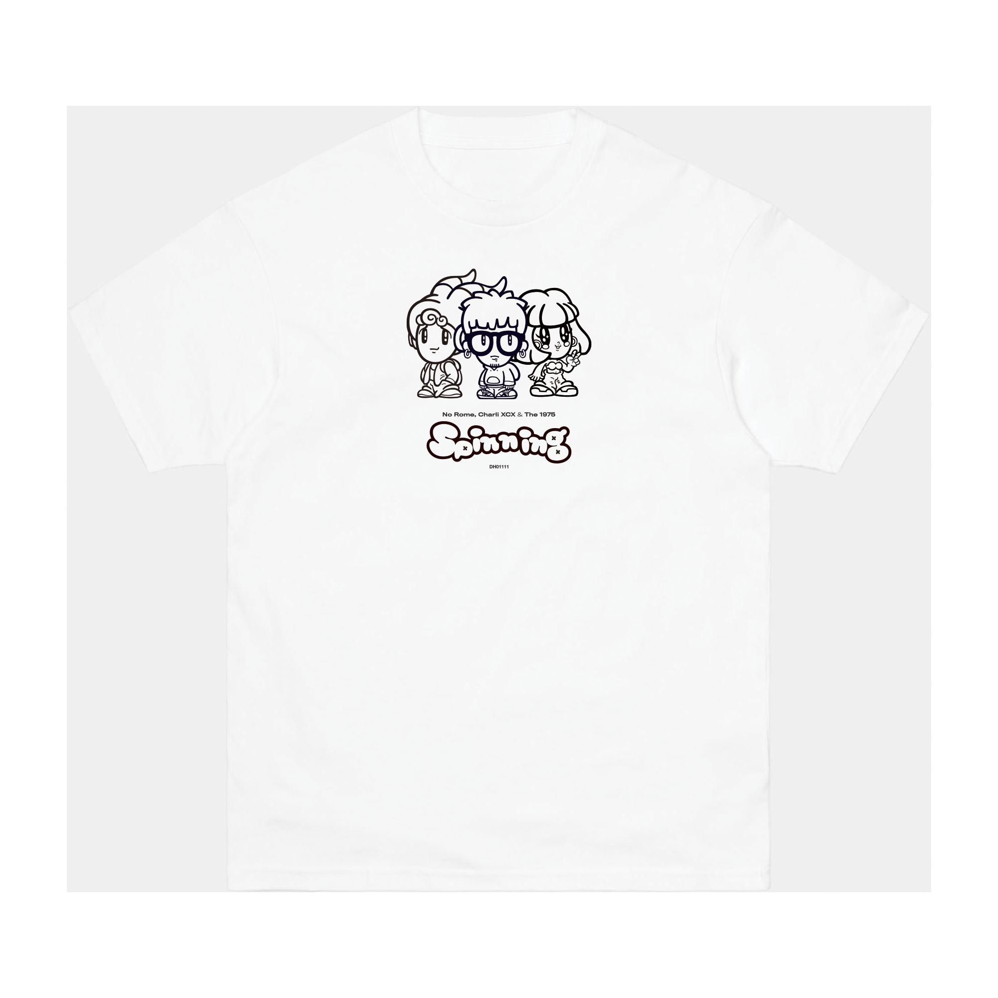 No Rome: Spinning T-Shirt