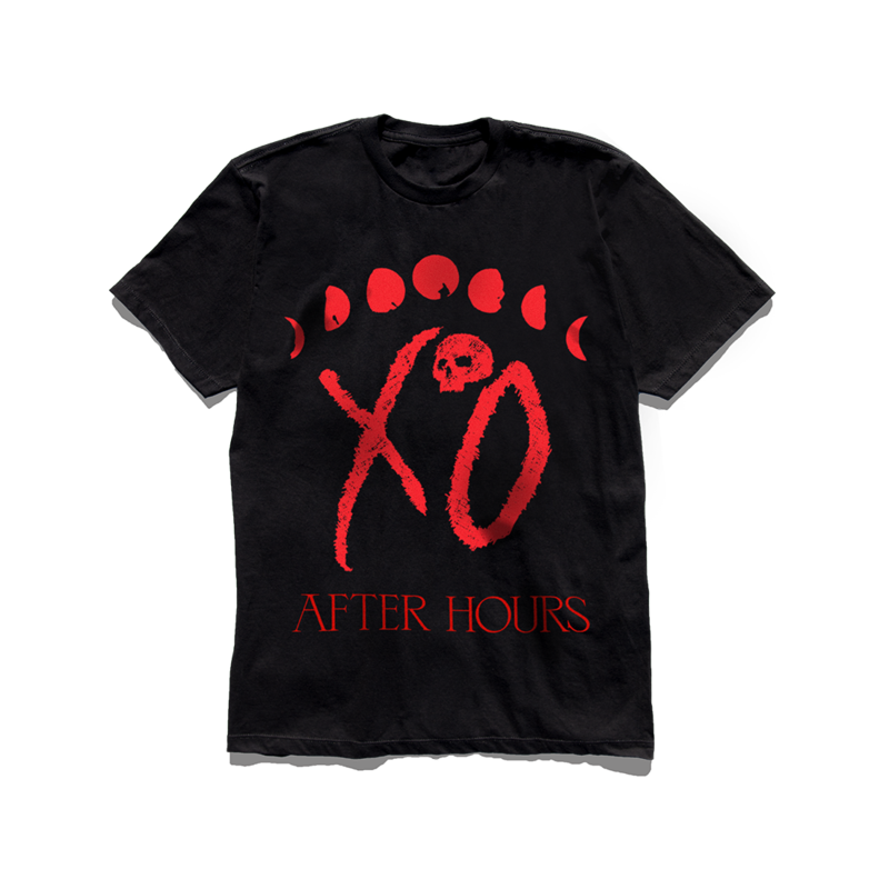 The Weeknd: 'XO LOGO MOON PHASE TEE