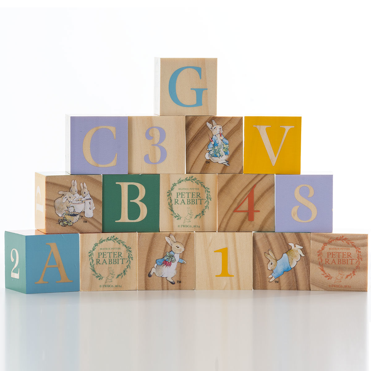 Peter Rabbit Peter Rabbit Wooden Blocks