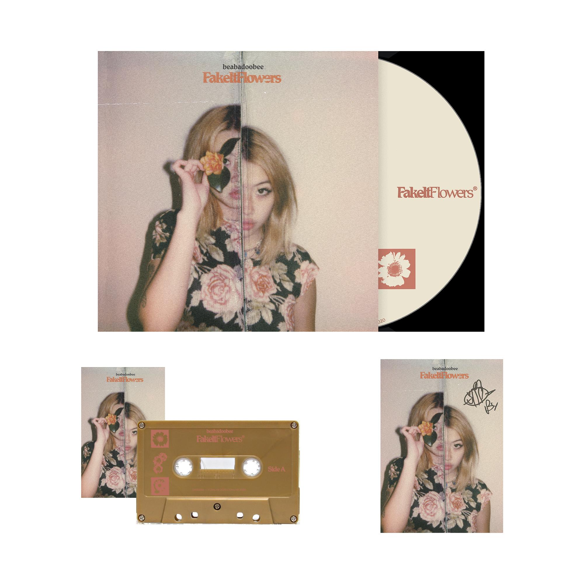 Beabadoobee: Fake It Flowers Gold CD Bundle (Signed)